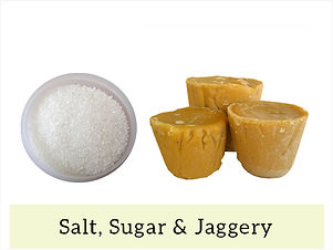 Indian Staples Salt, Sugar & Jaggery