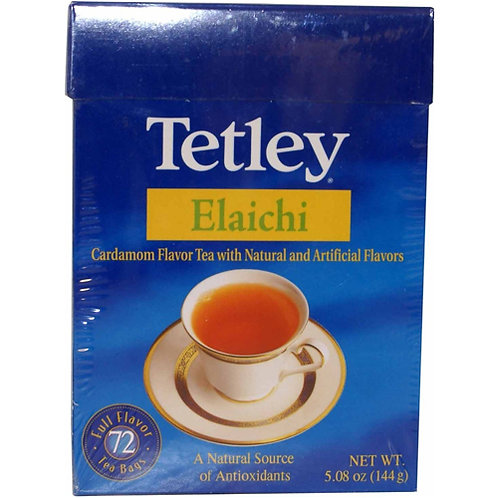 Tetley Elaichi Tea Bags - 72c