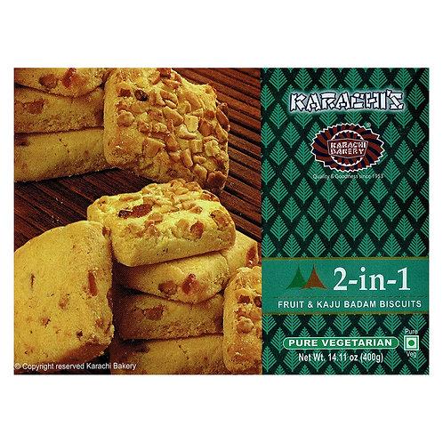 Karachi Fruit + Kaju Badam Biscuits - 400g