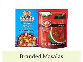 Indian Masala & Spices - Branded Masalas