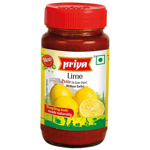 Priya Lime Pickle(NG)-10.5oz