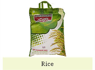 Indian Staples Rice