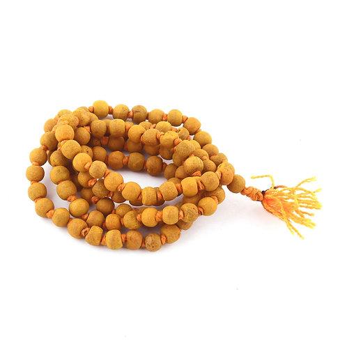 Beads Pooja Mala Haldi-108