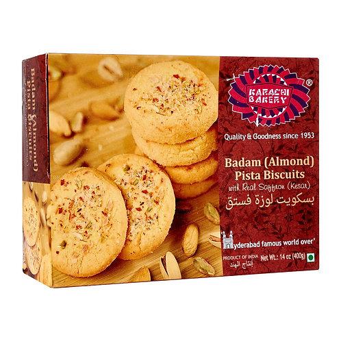 Karachi Pista Almond Biscuits - 400g