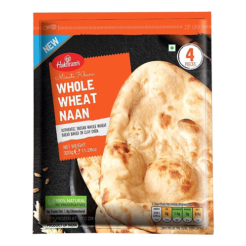 HR Whole Wheat Naan - 320g