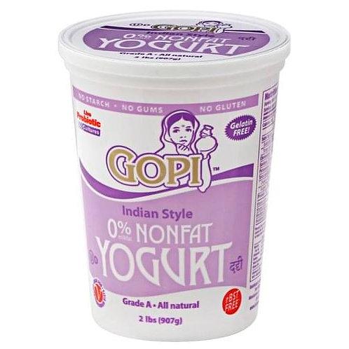 Gopi Non Fat Yogurt - 2lb