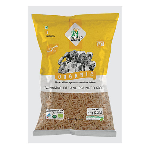 24M Org Hand Pounded Rice 10lb