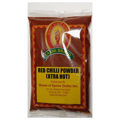 Laxmi XHot Red Chilli Pwd-7oz