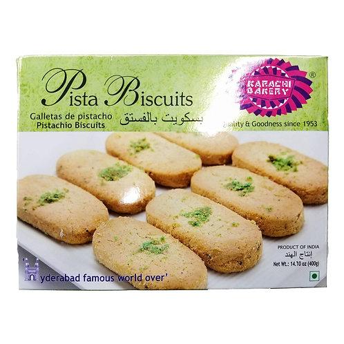 Karachi Pista Biscuits(Green) - 400g