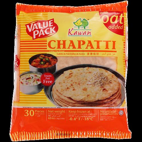 Kawan Oats Chapatti 1.2kg/30ct