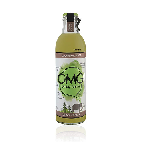 OMG Sugarcane Juice (GINGER GROOVE) - 250ml