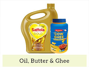 Indian Staples Oil, Butter & Ghee