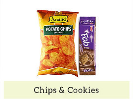 Indian Snack Chips & Cookie