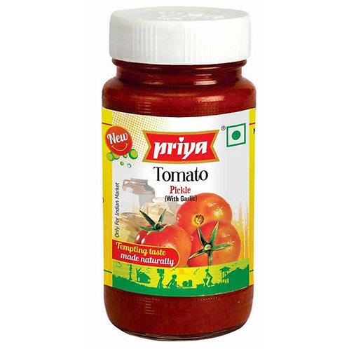 Priya Tomato With Garlic Pickle-10.5oz