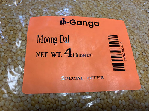 i-Ganga Moong Dal - 4lb