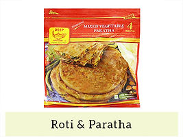 Indian Frozen Roti & Paratha