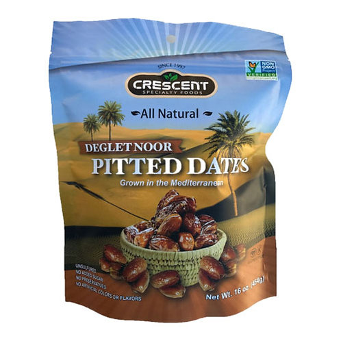 Crescent Pouch Pitted dates 16oz