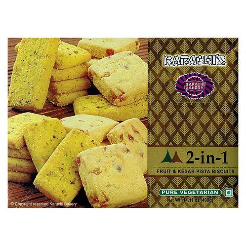 Karachi Fruit + Kesar Pista Biscuits - 400g