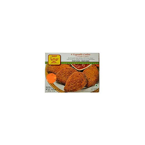DEEP Frozen Veg Cutlet-7.5oz