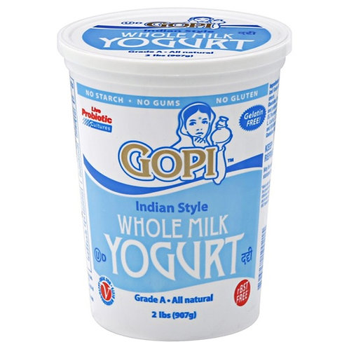 Gopi Whole Milk Yogurt - 2lb