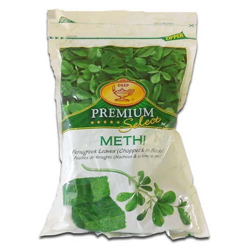 Deep IQF Methi Blocks-12oz