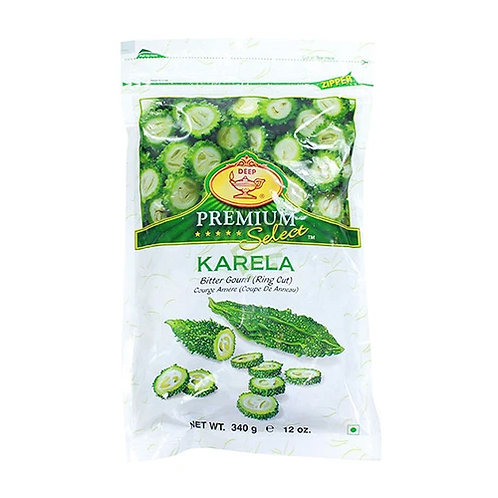 Deep IQF Karela(Ring Cut)-12oz
