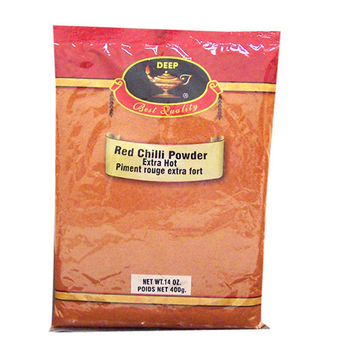 Deep Red Chilli Powder Extra Hot-14oz