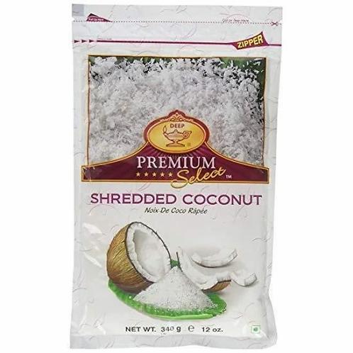Deep IQF Shredded Coconut-12oz