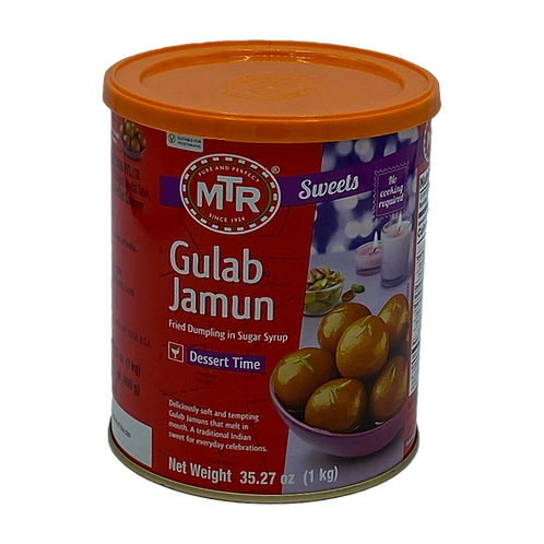 MTR Gulab Jamun Tin - 1kg