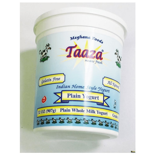 Taaza Whole Milk Yogurt Qt