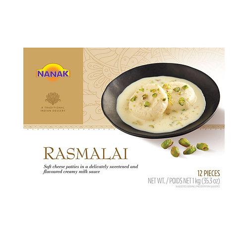 Nanak Rasmalai 1Kg/12pc