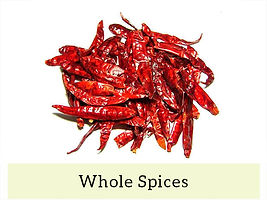 Indian Masala & Spices - Whole Spices