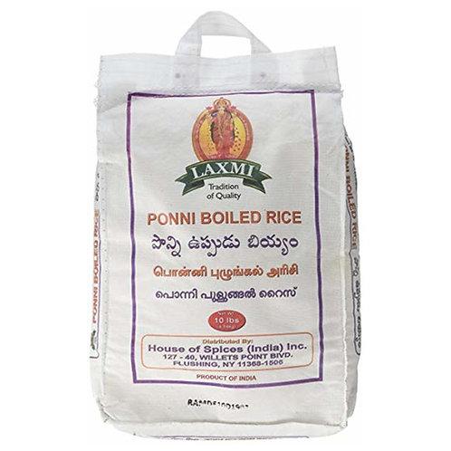 Laxmi Ponni Boiled Rice-10lb
