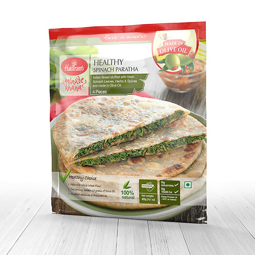 HR Healthy Spinach Paratha 400g