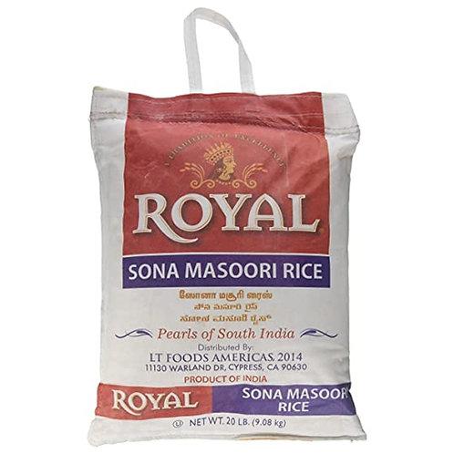Royal Sona Masoori Rice - 20lb