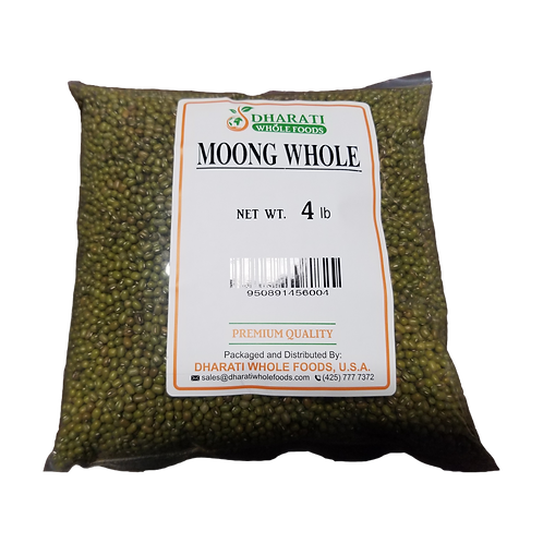Dharati Moong Green Whole - 4lb