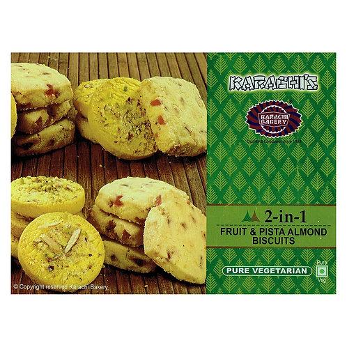 Karachi Fruit + Pista Almond Biscuits - 400g