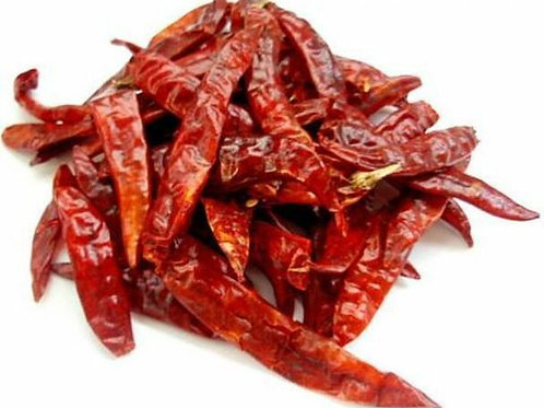 Dinoo's Red Chilli Whole - 100gm