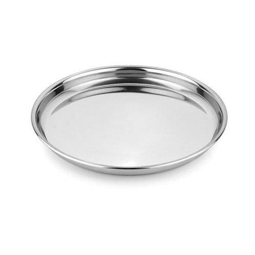 Steel Thali Round