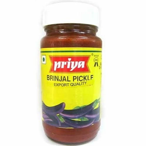 Priya Brinjal W Garlic 300g