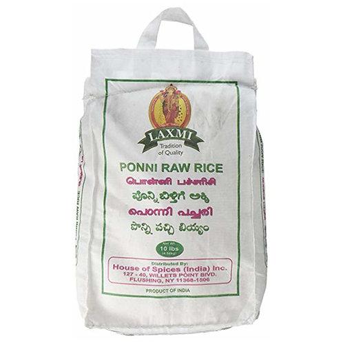 Laxmi Ponni Raw Rice-10lb
