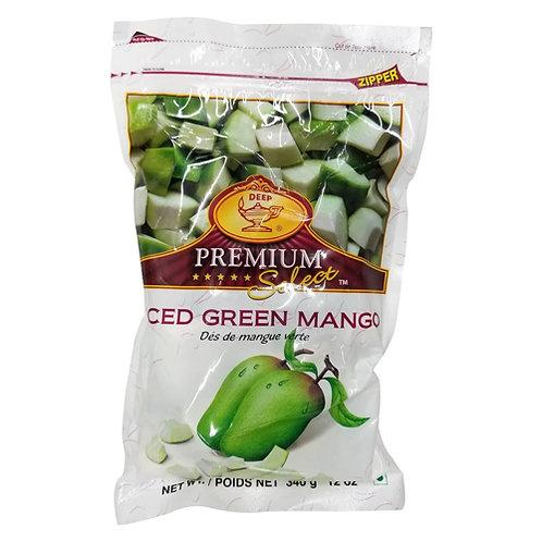 Deep IQF GrnMango Slices-12 oz