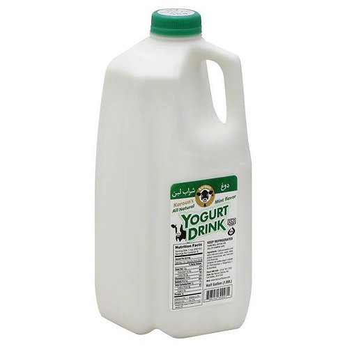 Karoun Yogurt Drink Mint - 0.5 gallon
