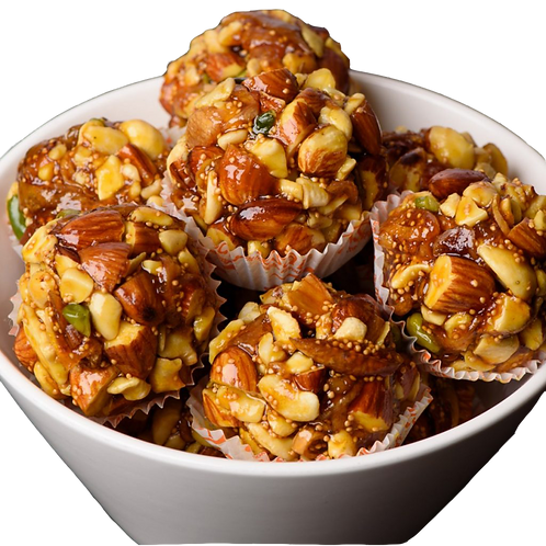 Dry Fruit Laddu - 4pcs