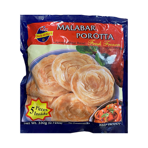 DD Malabar parotta 330gm