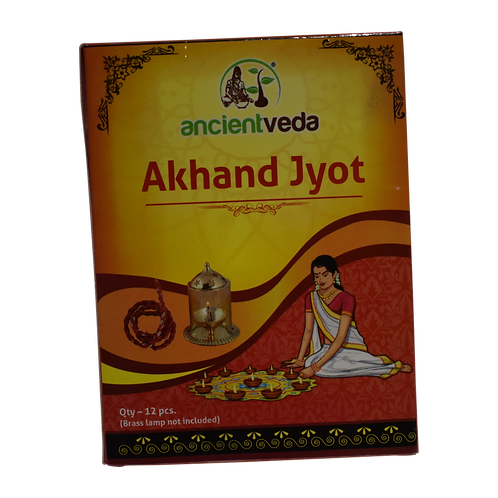 Ancient Veda Akhand Jyot - 12pcs