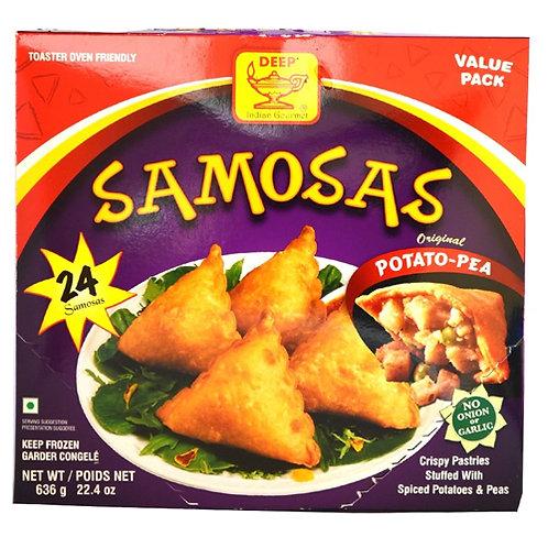Deep Potato Pea Samosas 24