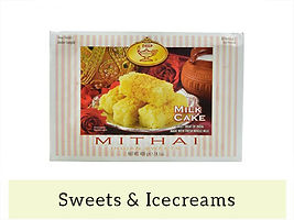 Indian Frozen Sweets & Icecreams