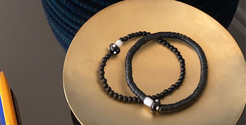 Opua Black Bracelet Collection