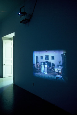 Sisters video projection